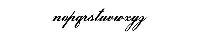 HelenaScript ES Font LOWERCASE