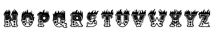 Hell Circus Font LOWERCASE
