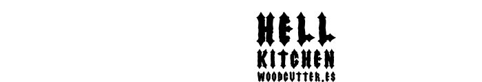 Hell Kitchen Font OTHER CHARS