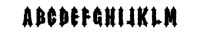 Hell Kitchen Font LOWERCASE