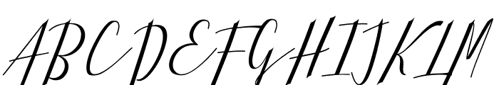 Hellarria Font UPPERCASE