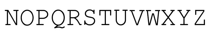 HellasCour Regular Font UPPERCASE