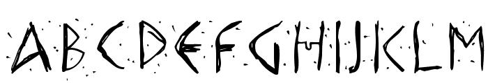HellasDust Font UPPERCASE