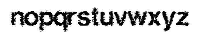 Hellbetika Bold Font LOWERCASE