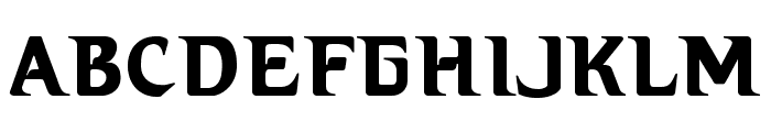 Hellbound Font UPPERCASE