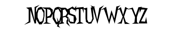 Hellcats BV Font UPPERCASE