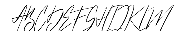 Hellicopters Brush Script Font UPPERCASE