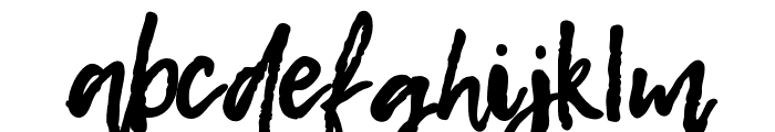 Hello August Hand Font LOWERCASE
