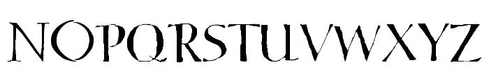 Hello Sark Font UPPERCASE