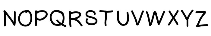 HelloAli Font UPPERCASE