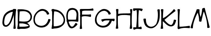 HelloAloha Font UPPERCASE
