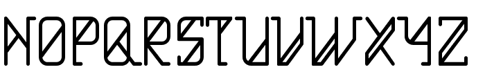 HelloAlpha Font UPPERCASE