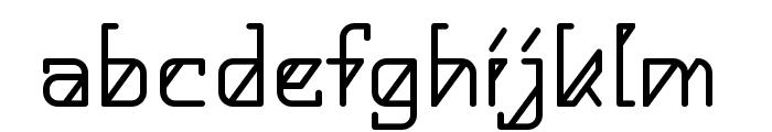 HelloAlpha Font LOWERCASE