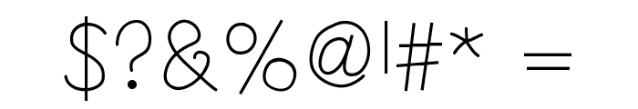 HelloAnnie Font OTHER CHARS