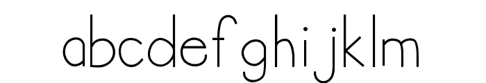 HelloAnnie Font LOWERCASE