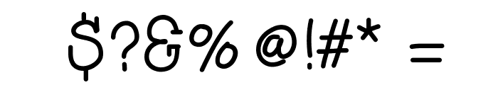 HelloAsparagus Font OTHER CHARS