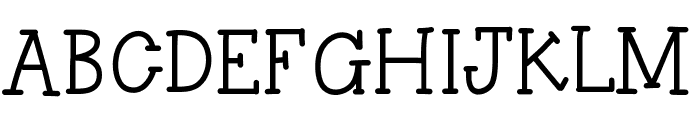 HelloAsparagus Font UPPERCASE
