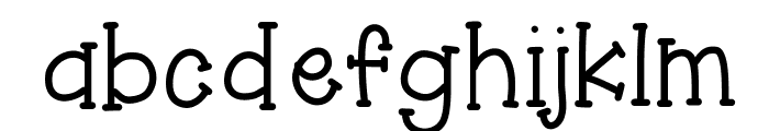 HelloAsparagus Font LOWERCASE