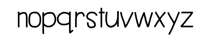 HelloBestDay Font LOWERCASE