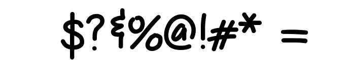 HelloBoomerang Font OTHER CHARS