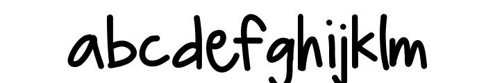 HelloBoomerang Font LOWERCASE