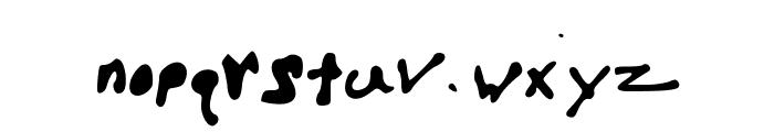 HelloBrock Font LOWERCASE