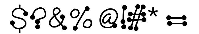 HelloBubbleButt Font OTHER CHARS
