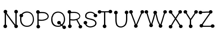 HelloBubbleButt Font UPPERCASE