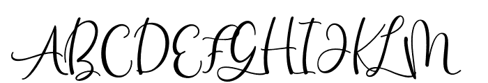 HelloBunda Font UPPERCASE