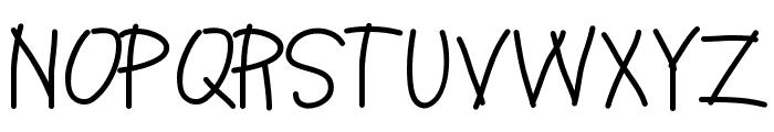 HelloCake Font UPPERCASE