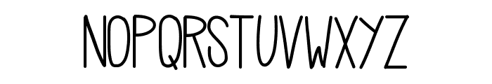 HelloCasual Font UPPERCASE