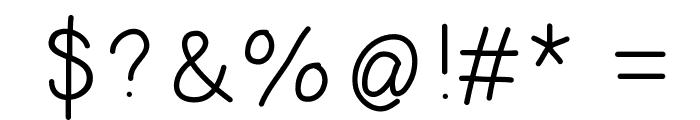 HelloDoodlePrint Font OTHER CHARS