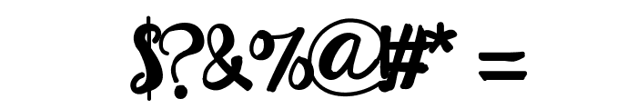 HelloEsliScript Font OTHER CHARS