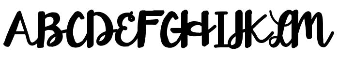 HelloEsliScript Font UPPERCASE