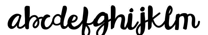 HelloEsliScript Font LOWERCASE