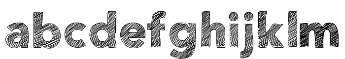 HelloEtchASketch Font LOWERCASE