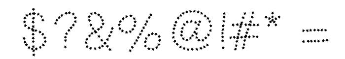 HelloFireworks Font OTHER CHARS