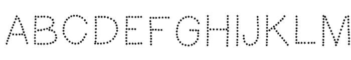 HelloFireworks Font UPPERCASE