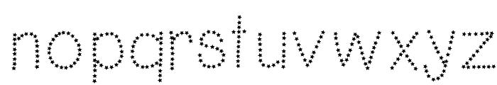 HelloFireworks Font LOWERCASE