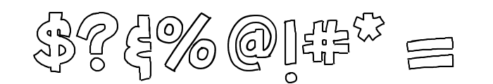 HelloFirstieBig Font OTHER CHARS