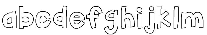 HelloFirstieBig Font LOWERCASE