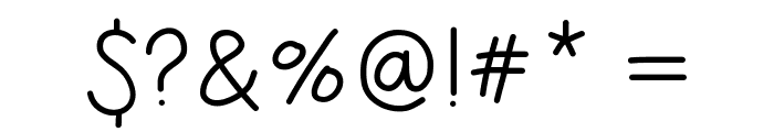 HelloIHeart1 Font OTHER CHARS