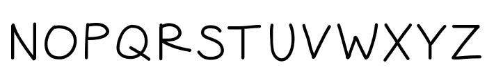 HelloJourney Font UPPERCASE