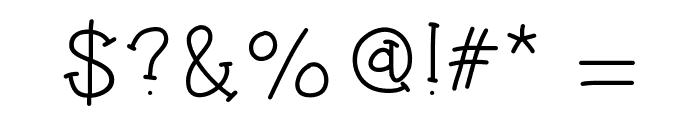 HelloJumpingJacks Font OTHER CHARS