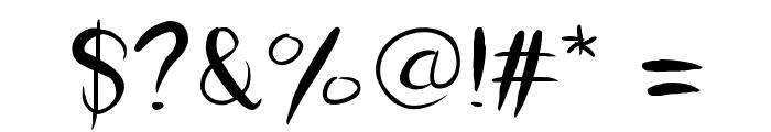 HelloLiza Font OTHER CHARS