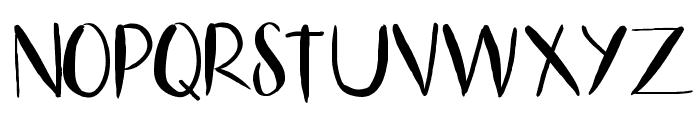 HelloLiza Font UPPERCASE