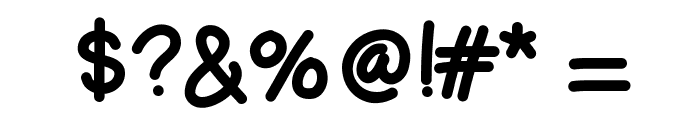 HelloLori Font OTHER CHARS