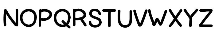 HelloLori Font UPPERCASE