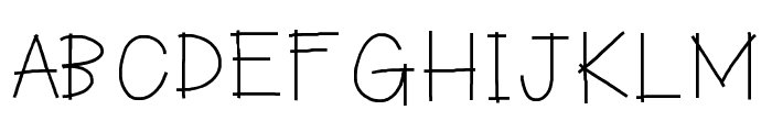 HelloMaddox Font UPPERCASE
