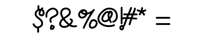 HelloPoolNoodle Font OTHER CHARS